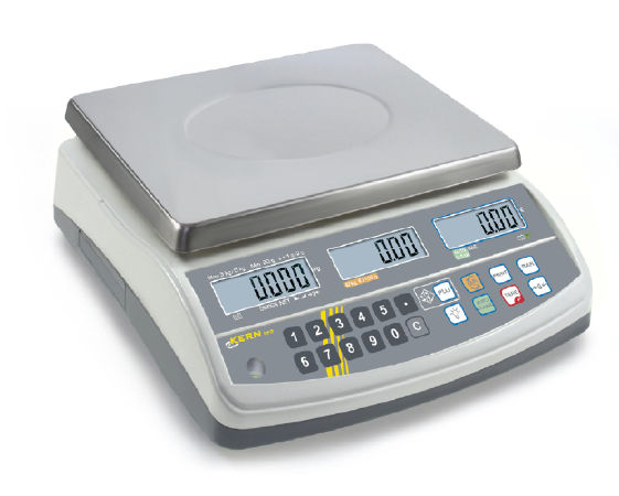 KERN Price computing scale with type approval 0,005 kg: 0,01 kg : 15 kg: 30 kg