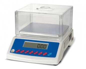 SATIS BS1500A Laboratory 1500g/0,05g szalka 125x145mm (RS232)